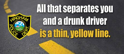 Hingham PD Yellow Line Impaired Driving