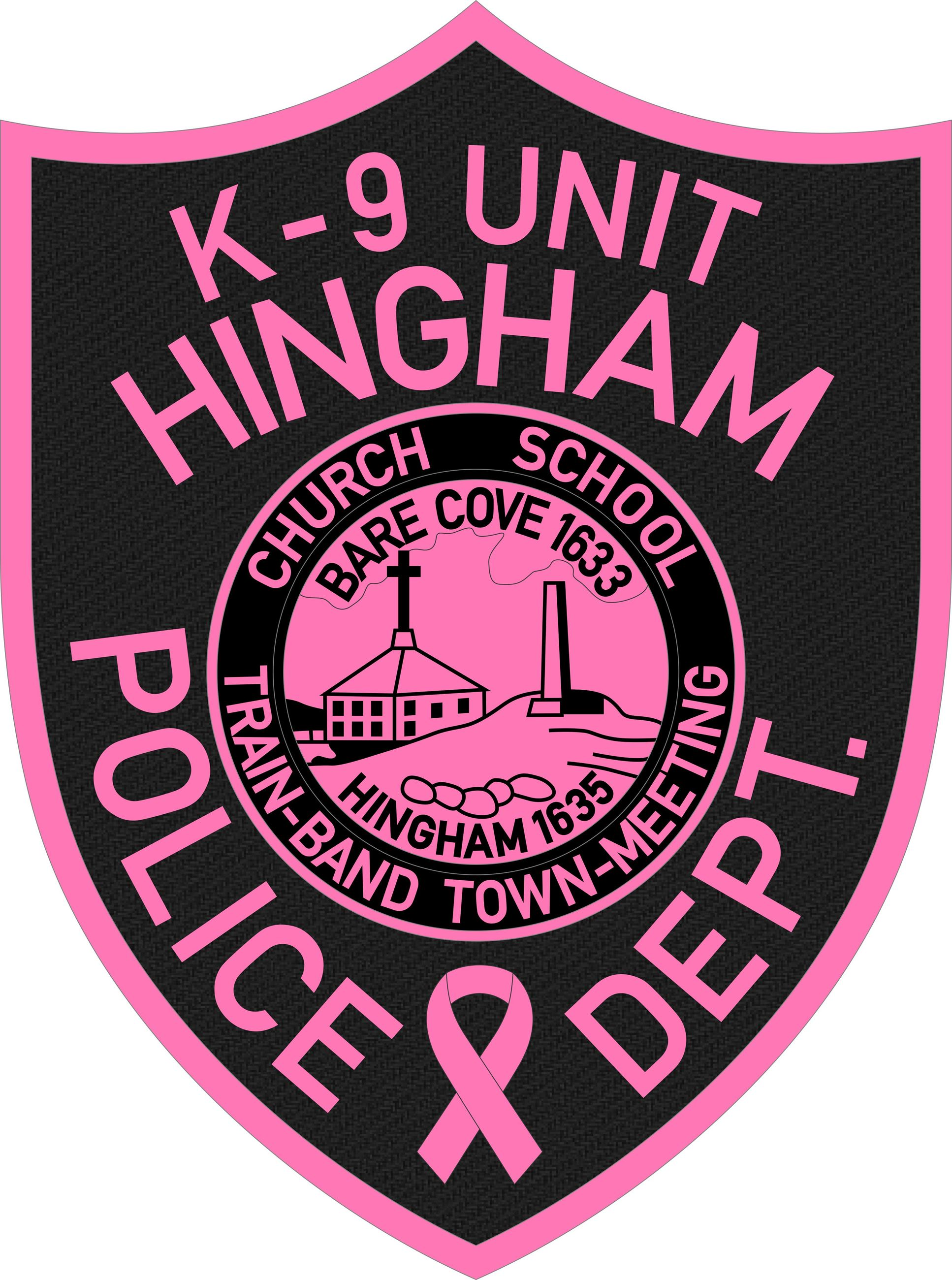 HPD K-9 Pink Patch
