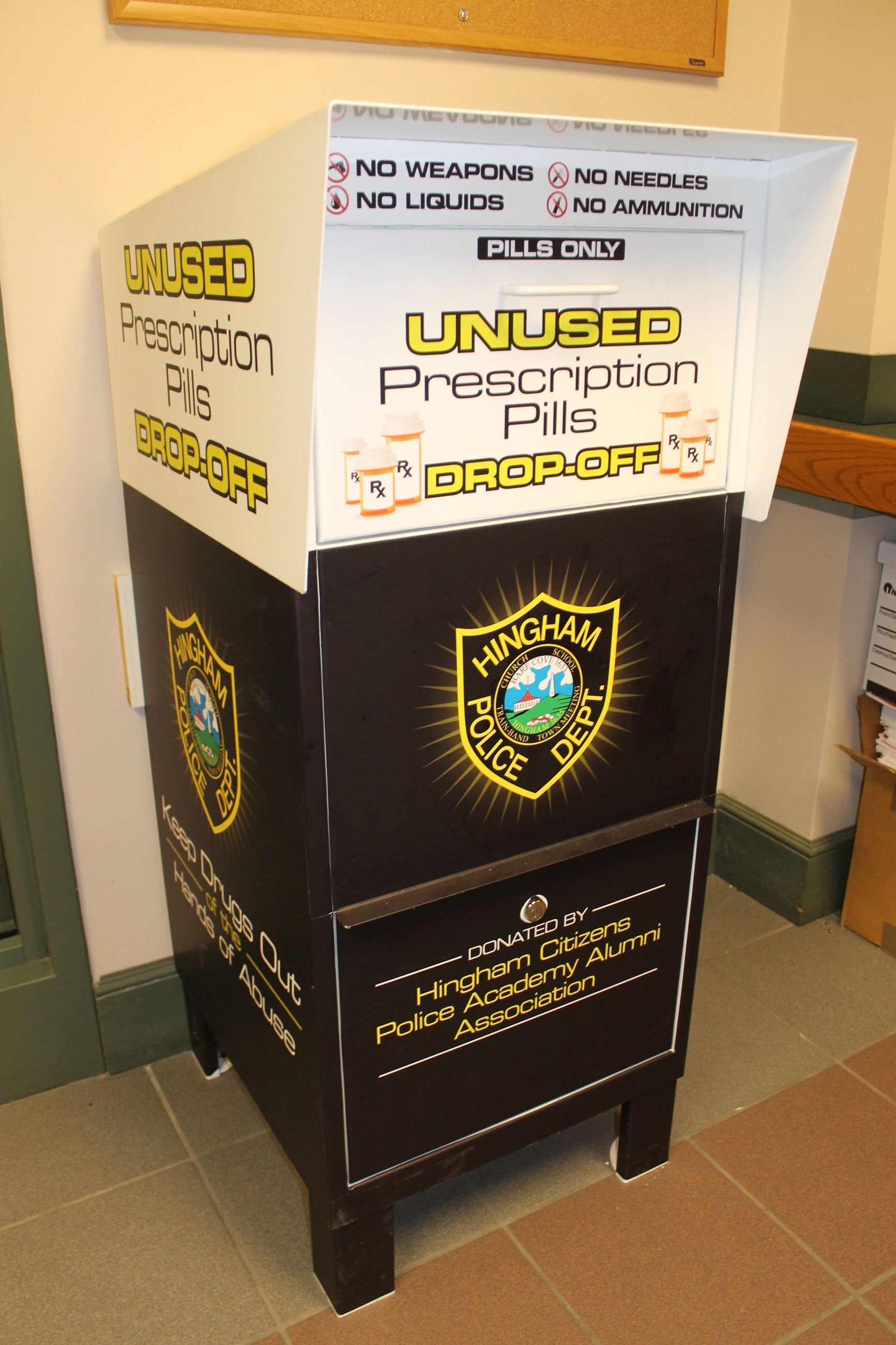 Unwanted Medicine Collection Box